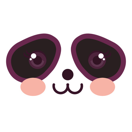 Stuffed animal panda icon vector illustration design graphic Stock fotó - 80862018