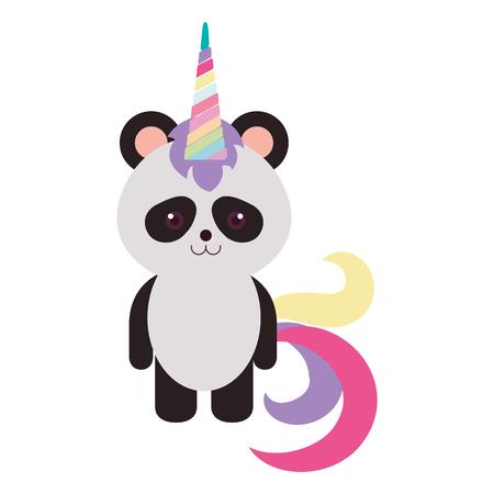 baby: Stuffed animal panda icon vector illustration design graphic Illustration