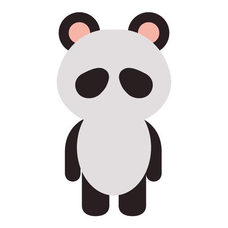Panda animal panda icône illustration vectorielle conception graphique Banque d'images - 80862079