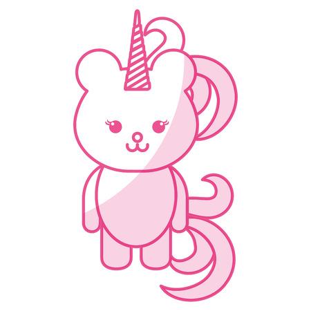 Stuffed animal monkey icon vector illsutration design shadow