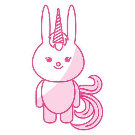 L'icône du lapin des animaux farcis illustre l'ombre de l'illustration vectorielle Banque d'images - 80862183