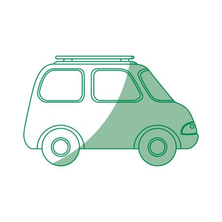 Car icon over white background vector illustration Stock Vector - 80872574