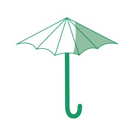 Umbrella icon over white background vector illustration