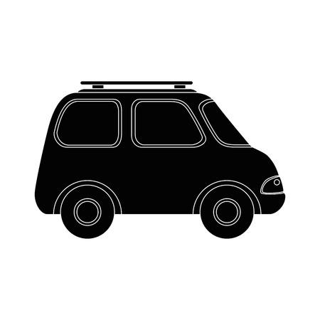 Car icon over white background vector illustration Zdjęcie Seryjne - 80871378