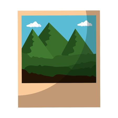 Icône image sur fond blanc illustration vectorielle Banque d'images - 80872822