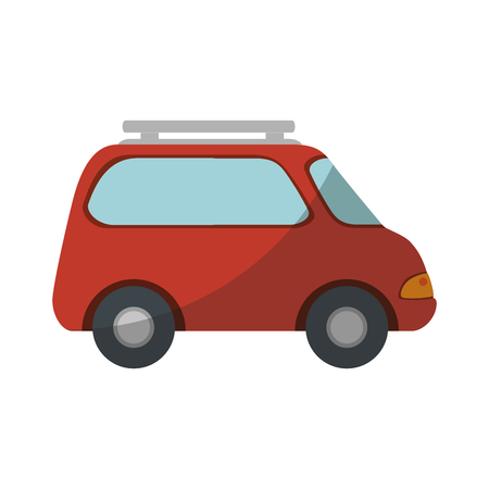 car icon over white background vector illustration Zdjęcie Seryjne - 80872832