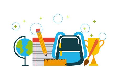 icons set graduate illustration icon vector design graphic