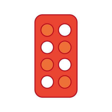Combine color palette icon vector illustration design graphic