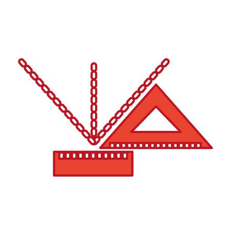 測定成績アイコン ベクトル イラスト デザイン グラフィックを乗  イラスト・ベクター素材