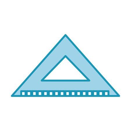 Squared measured grades icon vector illustration design graphic