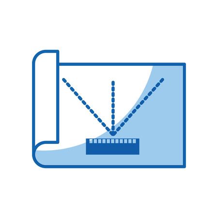 Sheet draw ideas icon vector illustration design graphic