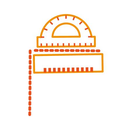 Conveyor instruments measure grades icon vector illustration design graphic