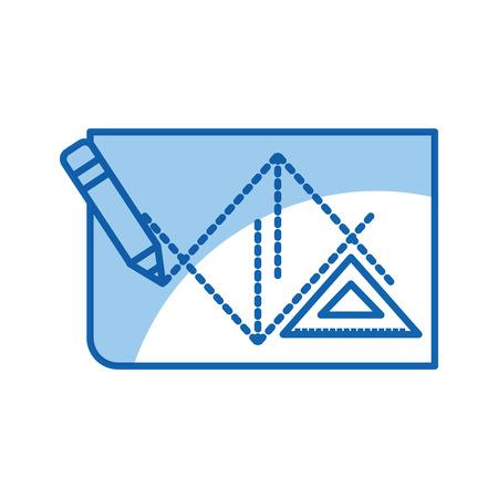 Blatt zeichnen Ideen Symbol Vektor-Illustration Design Grafik Standard-Bild - 80908332