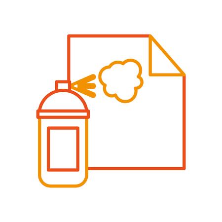 Blatt zeichnen Ideen Symbol Vektor-Illustration Design Grafik Standard-Bild - 80908353