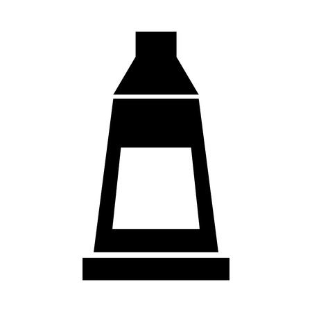 家庭用液体要素濃いベクトル イラスト デザイン グラフィック