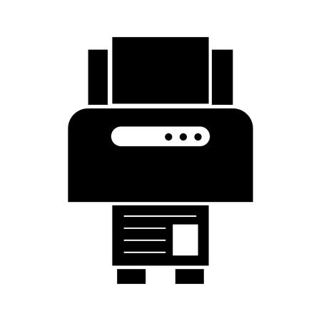 Electronic work instrument dark vector illustration design graphic