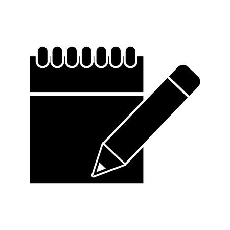 Calendar dates commitments dark vector illustration design graphic. Illustration