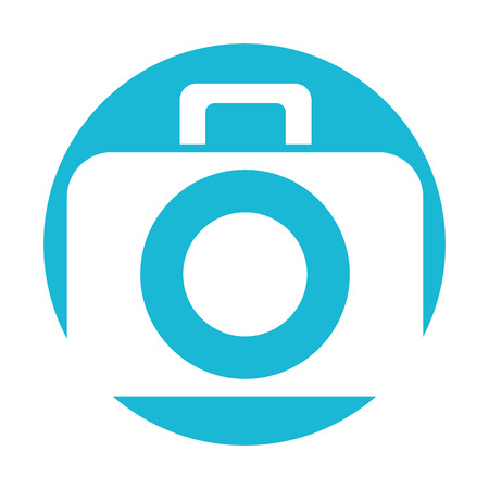 photographic camera digital icon vector illustration design graphic
