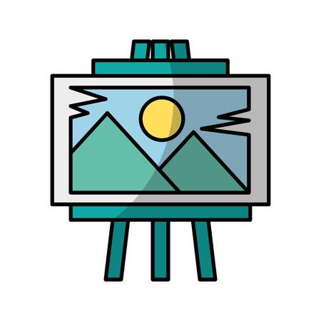 Ideas plasmar board shadow vector illustration design graphic