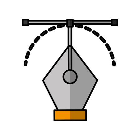Sheet draw ideas shadow vector illustration design graphic