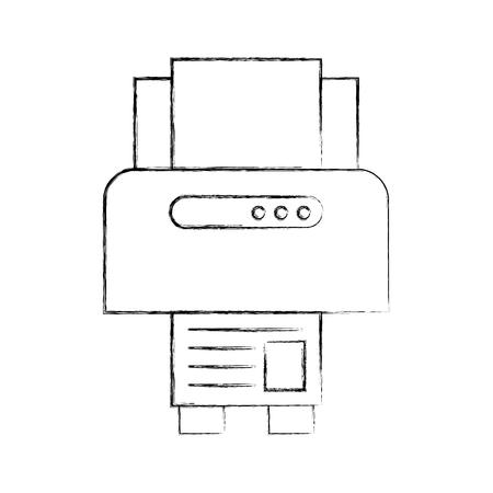 Electronic work instrument draw  vector illustration design graphic Illustration
