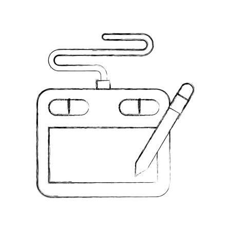 Technical apprentice designer draw  vector illustration design graphic Illustration