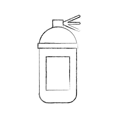 De vloeibare verflak trekt vector grafisch illustratieontwerp