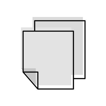 Carta carta informazioni icona illustrazione vettoriale illustrazione grafica Archivio Fotografico - 80908763