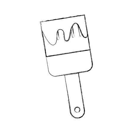 楽器ブラシの作業描画ベクトル イラスト デザイン グラフィック