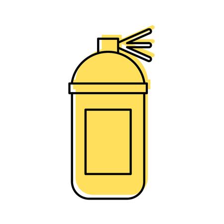 액체 페인트 옻 칠 아이콘 벡터 일러스트 디자인 그래픽