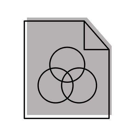 Hoja dibujar ideas icono vector ilustración diseño gráfico Foto de archivo - 80909248