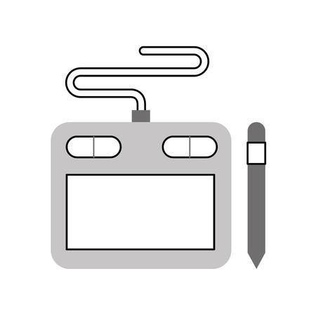 기술 견습 디자이너 아이콘 벡터 일러스트 디자인 그래픽 일러스트