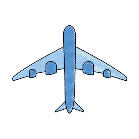 白い背景のベクトル図に飛行機アイコン 写真素材 - 80916287