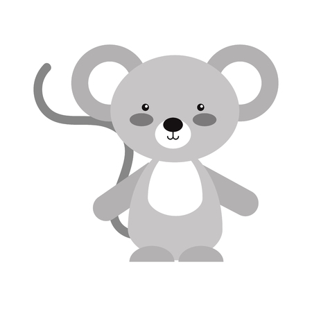 Animal koala cartoon icon vector illustration design graphic