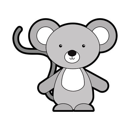 Animal koala cartoon icon vector illustration design graphic Imagens - 80943170