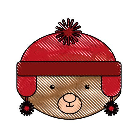 Animal squirrel cartoon icon vector illustration design doodle Illustration