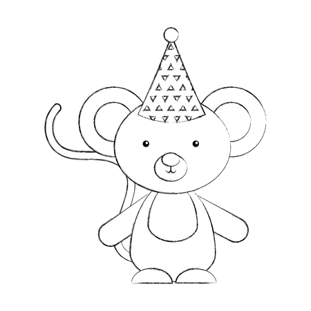 Animal koala cartoon icon vector illustration design draw Ilustração