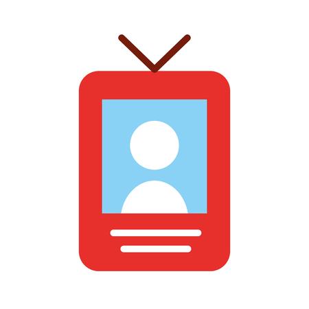 Grafico di progettazione dell'illustrazione di vettore dell'icona del segnale della persona del localizzatore Archivio Fotografico - 80932450