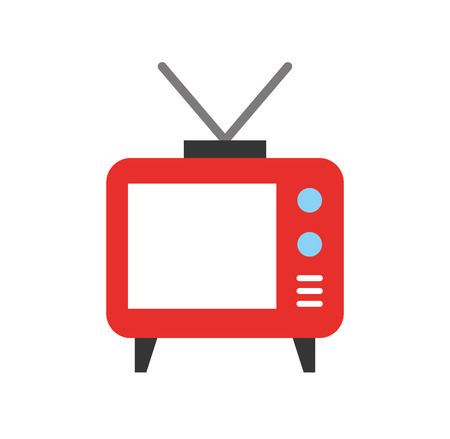 Big old television icon vector illustration design graphic Stock fotó - 80932457