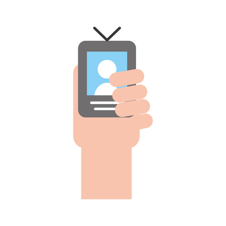 Persona di espulsione segnale icona illustrazione vettoriale illustrazione grafica Archivio Fotografico - 80932545