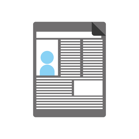 News paper news icon vector illustration design graphic