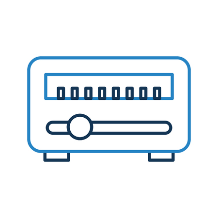 tv tower: News satellite radio icon vector illustration design graphic Illustration