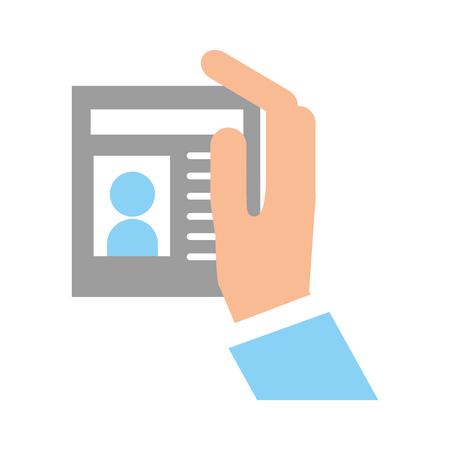 Grafico di progettazione dell'illustrazione di vettore dell'icona del segnale della persona del localizzatore Archivio Fotografico - 80933007