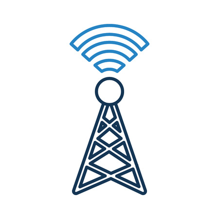 World signal antenna icon vector illustration design graphic Ilustração