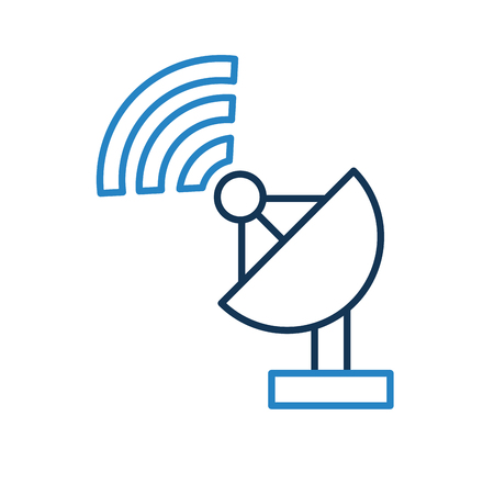 tv tower: World signal antenna icon vector illustration design graphic Illustration