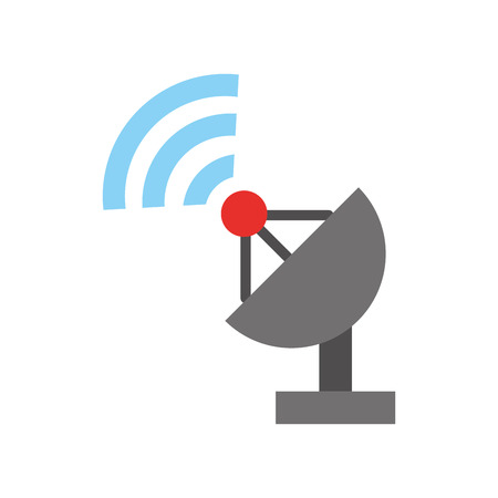 World signal antenna icon vector illustration design graphic Ilustrace
