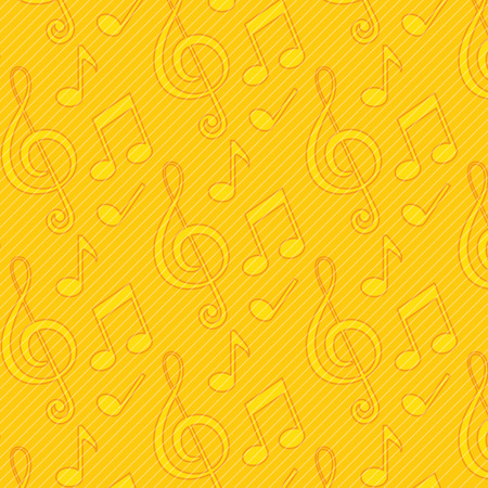 pattern of musical notes icon vector illustration graphic design Illustration