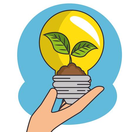 Green Eco concept design vector illustration graphic