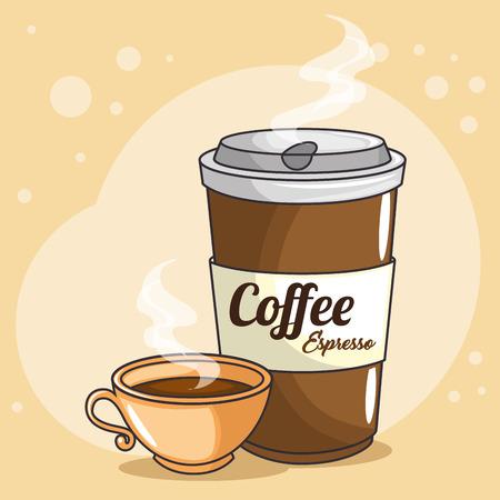 Koffiekoppen pictogram vector illustratie grafisch ontwerp Stockfoto - 81006749