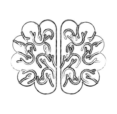 storm brain isolated icon vector illustration design Ilustração